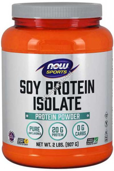 Soy Protein Isolate 907g - NOW Foods