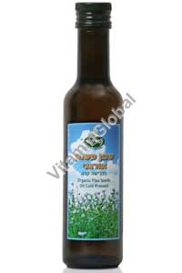 Organic Cold Pressed Flaxseed Oil 250 ml - Naturproducts