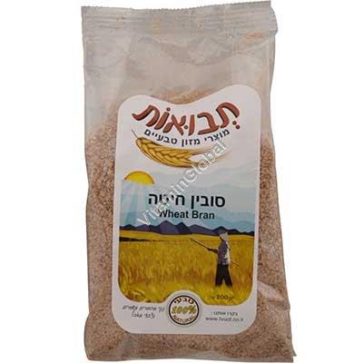Kosher Wheat Bran 200g - Tvuot