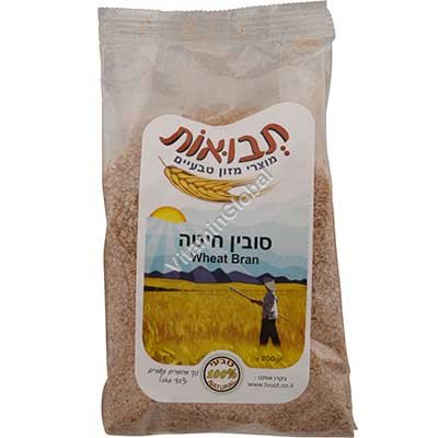 Kosher Wheat Bran 200g - Tvuot