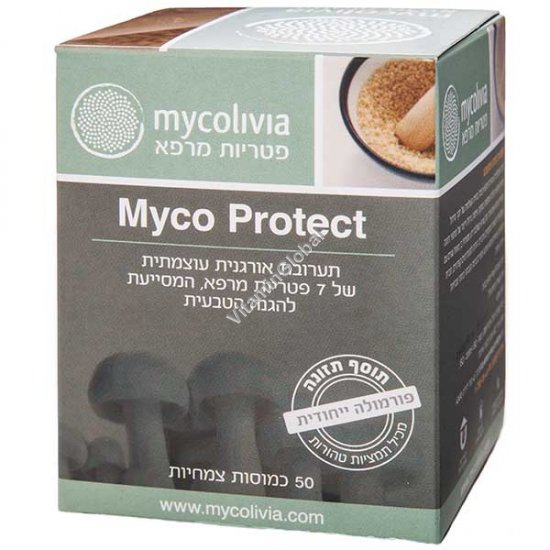 Myco Protect for Natural Defence 50 Vegicaps - Mycolivia