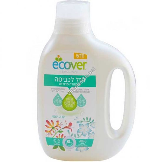 Concentrated Bio Laundry Liquid Honeysuckle & Jasmine 850ml - Ecover