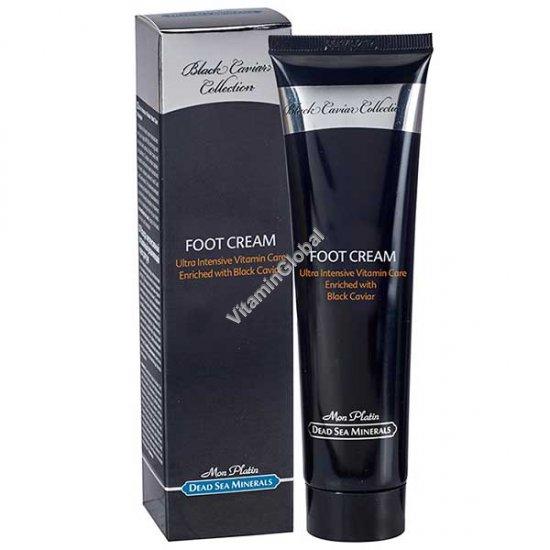 Ultra Intensive Vitamin Foot Care Cream Enriched with Black Caviar 100ml (3.4 fl. oz.) - Mon Platin