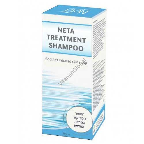 Treatment Shampoo, Soothes Irritated Skin Scalp 250ml - Neta