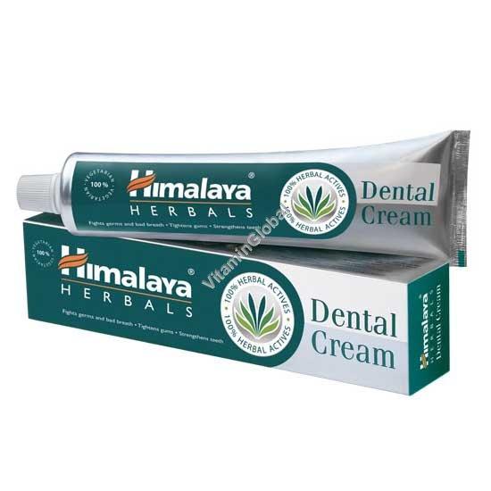 Herbal Dental Cream 100g - Himalaya Herbals