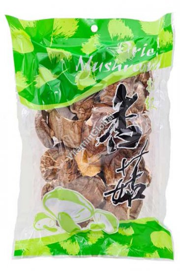 Kosher Badatz Dried Shiitake Mushrooms 100g - East & West