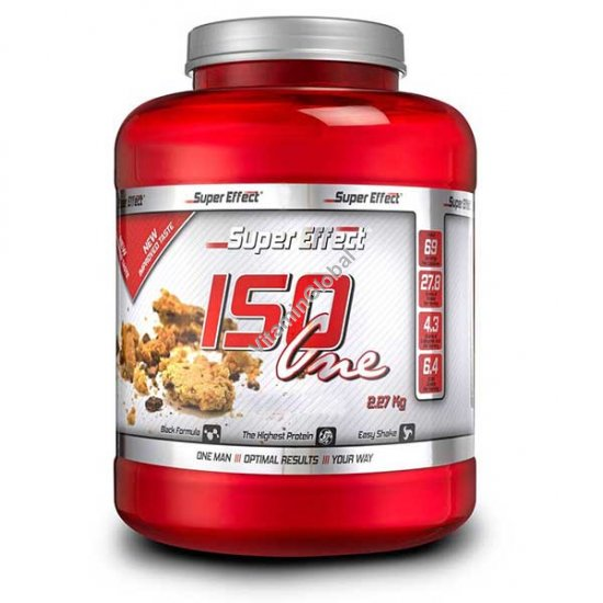 Whey Protein Isolate ISO One Banana Flavor 2.27kg -Super Effect