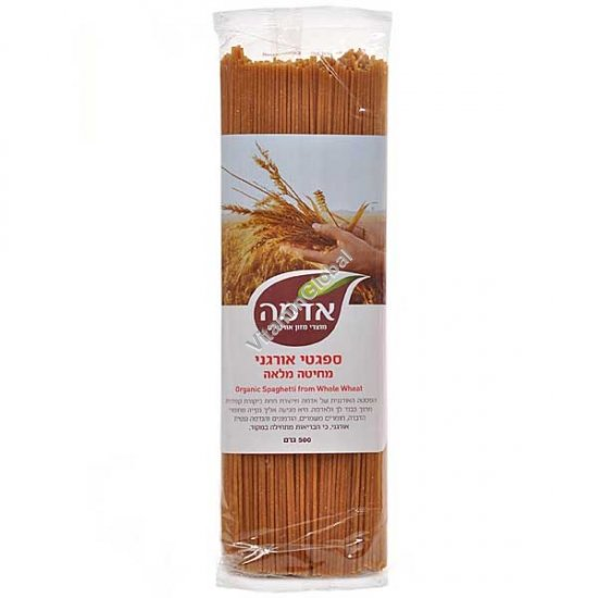 Organic Whole Wheat Spaghetti 500g - Adama