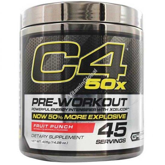 Pre-Workout C4, Fruit Punch 14.28 oz (405 g) - Cellucor