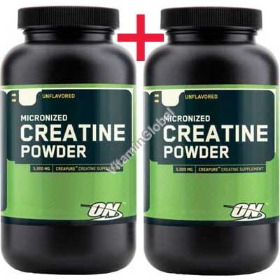 Micronized Creatine Powder 600g (300+300) - Optimum Nutrition