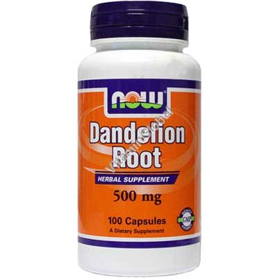 Dandelion Root 500 mg 100 caps - Now Foods