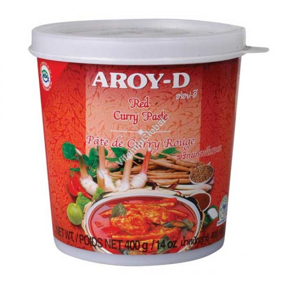 Red Curry Paste 400g - Aroy-D
