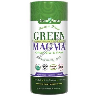 Green Magma - Powdered Barley Grass Juice 150g - Green Foods