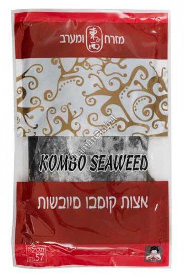 Dried Kosher Kombu Seaweed 57g - East & West