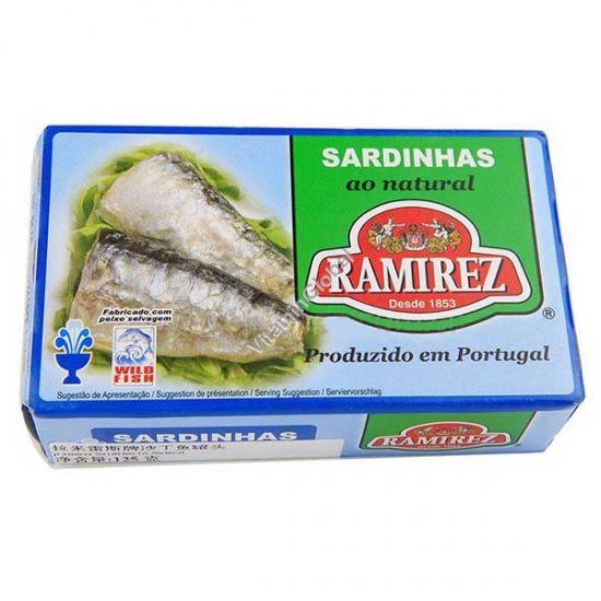 Sardines In Light Brine 125g - Ramirez