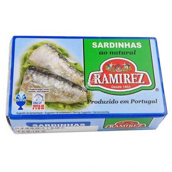Sardines In Light Brine 125g - Ramirez