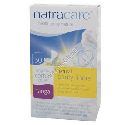 Natural Tanga Panty Liners 30 pcs - Natracare