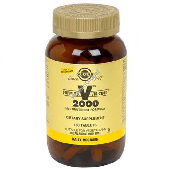 Multi Vitamin VM-2000 180 tablets - Solgar