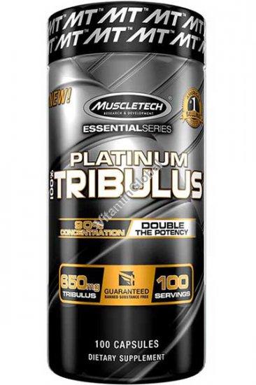 Platinum Tribulus 650 mg 100 capsules - MuscleTech