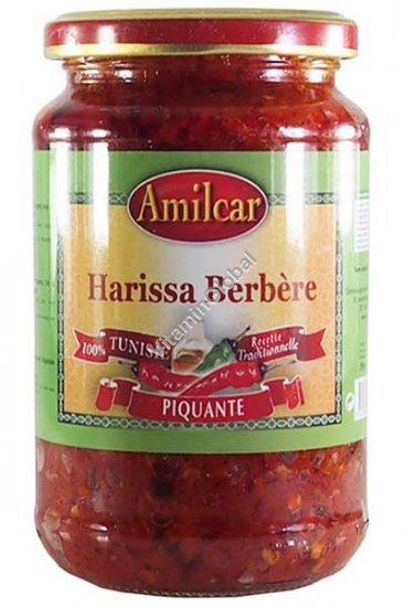 Natural Tunisian Berber Harissa 350g - Amilcar