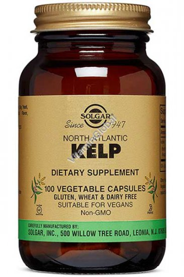 North Atlantic Kelp 100 Vcaps - Solgar