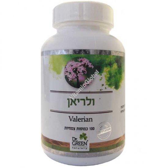 Kosher L\'Mehadrin Valerian Root 100 capsules - Dr. Green