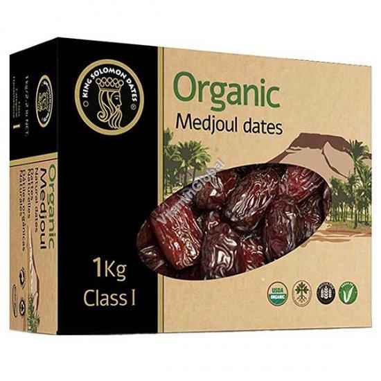 Medjoul Organic Dates 1kg - King Solomon Dates