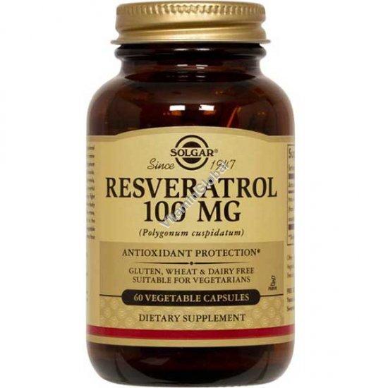 Resveratrol 100 mg 60 capsules - Solgar