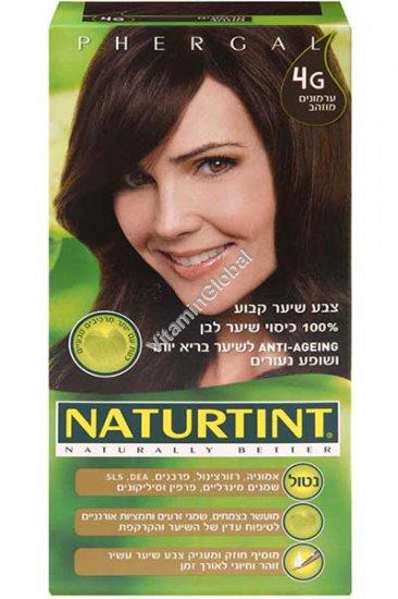 Permanent Hair Color 4G Golden Chestnut - Naturtint