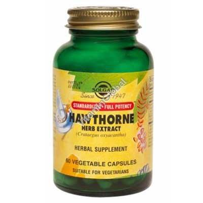 Hawthorne Herb Extract 60 Vcaps - Solgar