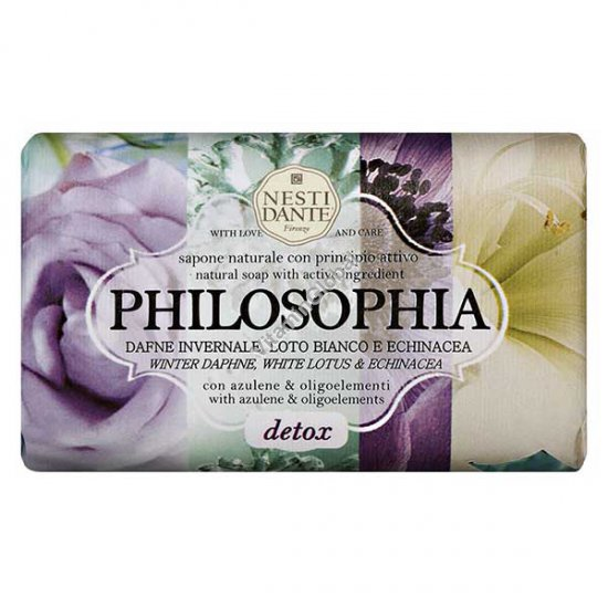 Philosophia, Detox Natural Soap Bar 250g - Nesti Dante