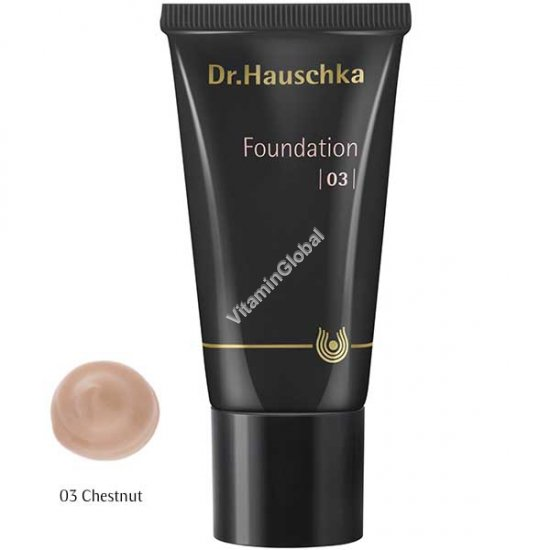 Foundation 03 - Chestnut 30 ml (1.00 fl oz) - Dr. Hauschka
