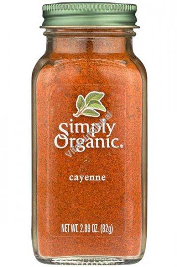 Organic Cayenne Pepper 82g (2.89 OZ.) - Simply Organic