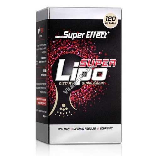 Super Lipo Kosher Fat Burner 120 capsules - Super Effect