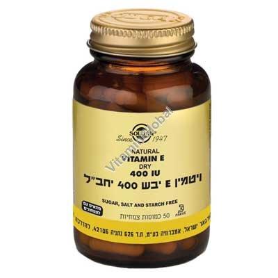 Dry Vitamin E 400 IU 50 caps - Solgar