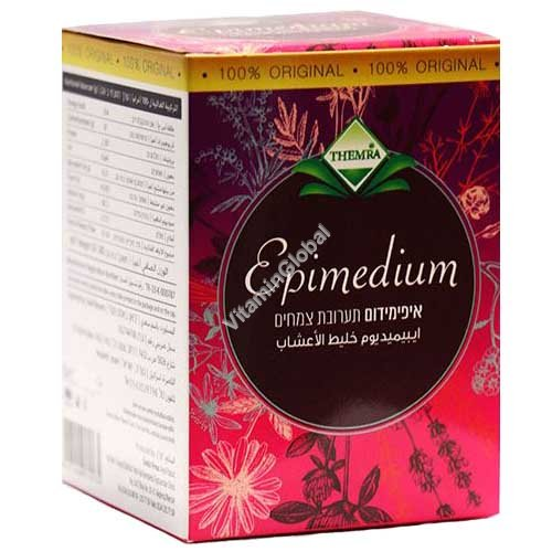 Epimedium Paste with Honey Horny Goat Weed Herbal Aphrodisiac 43g - Themra