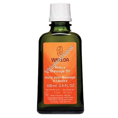 Arnica Massage Oil 100 ml - Weleda