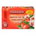 Rosehip & Hibiscus Flowers Tea 20 tea bags - Pompadour