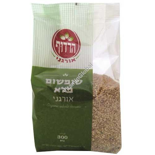 Organic Whole Sesame Seeds 300g - Harduf
