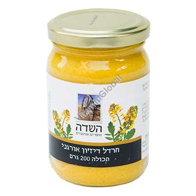Organic Dijon Mustard 200g - HaSade