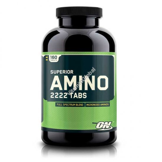 Amino 2222 160 Tablets - Optimum Nutrition