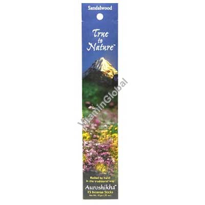 Sandalwood Natural Incense Sticks 10g - Auroshikha