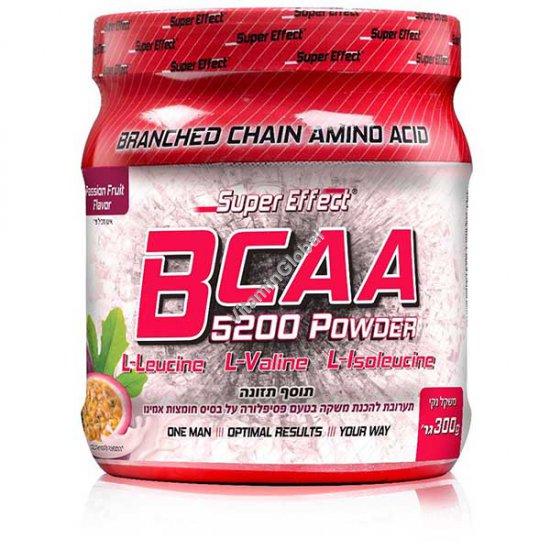Kosher BCAA 5200 Powder Passion Fruit Flavor 300g - Super Effect