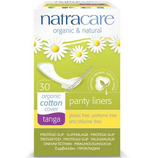 Natural Tanga Panty Liners 30 Count - Natracare