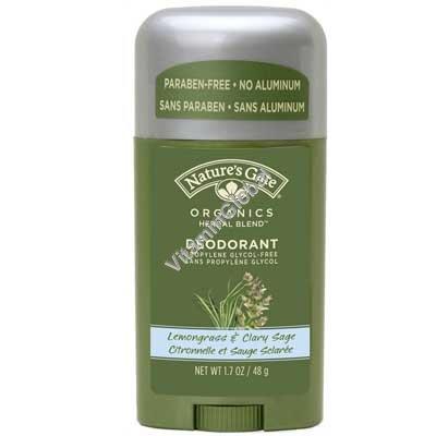 Deodorant Lemongrass & Clary Sage 48g - Nature\'s Gate