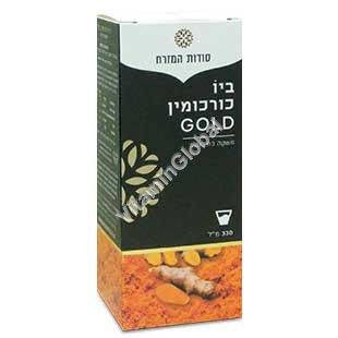 Bio Curcumin Gold - Kosher Badatz 95% Turmeric Drink 330ml (11.15 fl.oz) - Oriental Secrets