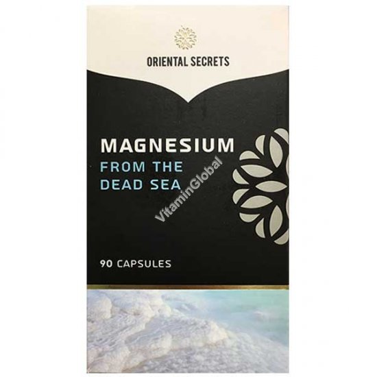 Magnesium From The Dead Sea 90 capsules - Oriental Secrets