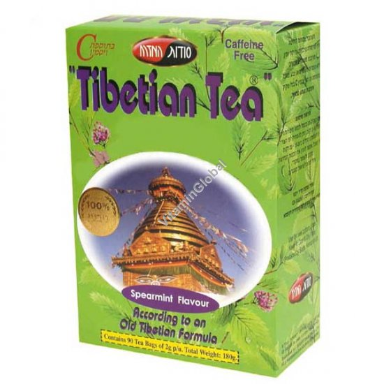 Tibetian Tea Spearmint Flavour 90 bags - Oriental Secrets