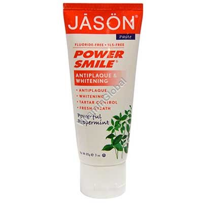 PowerSmile - All Natural Whitening Toothpaste 85g - Jason