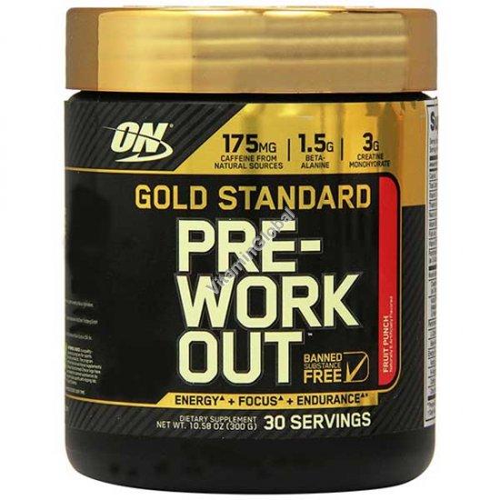 Gold Standard Pre-Workout Fruit Punch 300g - Optimum Nutrition